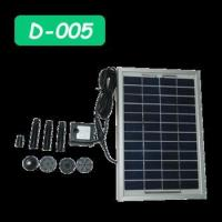 Buy cheap Solar fountain widely used in the water fountain, rockery fountain, aquarium water circulation etc. from wholesalers