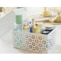 Buy cheap Kitchenware Iron Cosmetics Basket Sundries Storage Basket from wholesalers