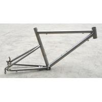 Buy cheap Ultra-light titanium frame / 20-inch 406 ferry bike / titanium frame can be customized FRM02 from wholesalers