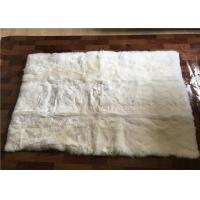 Buy cheap Long Lambswool Large Sheepskin Area Rug Thick For Living Room Baby Play from wholesalers