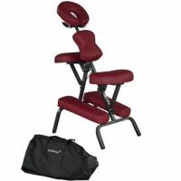 Buy cheap BestMassage Burgundy 4 Portable Massage Chair Tattoo Spa Free Carry Case from wholesalers