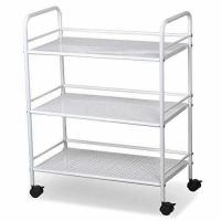 Buy cheap World Pride Rolling Salon Trolley Cart, 3 Tier, White from wholesalers