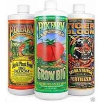 Buy cheap Big Bloom, Grow Big, Tiger Bloom Pint Size Pack of 3 - Fox Farm Liquid Nutrient Trio Soil Formula from wholesalers