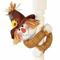 Buy cheap Fall Scarecrow with Straw Hat And Poseable Arms Decoration from wholesalers