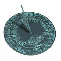 Buy cheap Rome 2560 New Salem Sundial, Cast Iron with Verdigris Finish, 10-Inch Diameter product