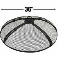 36 INCH FIRE SCREEN  FIRE PIT COVER  FIRE SCREEN PROTECTOR