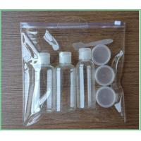 Buy cheap Hot sale Eco-friendly Clear luggage sets cosmetic PVC bag from wholesalers