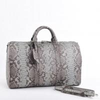 Buy cheap Genuine python leather Duffle weekend Bag from wholesalers