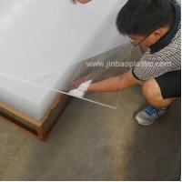 Buy cheap JINBAO factory heat resistant plastic acrylic sheet from wholesalers