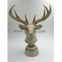Buy cheap P0011 Polyresin Reindeer Figurine from wholesalers