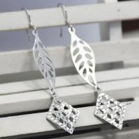 Buy cheap Made In China Custom Designs Willow Leaves Pattern Studs Earring Supplier product