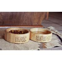 Buy cheap Wooden Dog Bowls from wholesalers