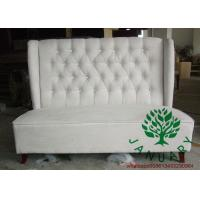 Buy cheap Luxury Hotel wood Restaurant Bench from wholesalers