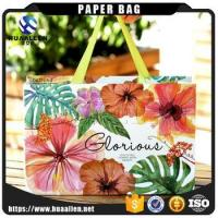 Buy cheap Chinese Eco Friendly Customized Cardboard Art Gift Shopping Paper Bag With Ribbon from wholesalers
