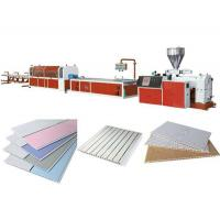 Buy cheap PVC ceiling panel profile production line from wholesalers