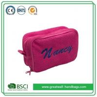 Buy cheap Wholesale Custom Personalized Pretty Pink Girly Makeup Bags and Cases from wholesalers