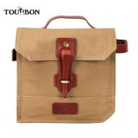 Buy cheap Tourbon Waterproof Canvas Cycling Bike Panniers Bicycle Frame Bag Small from wholesalers