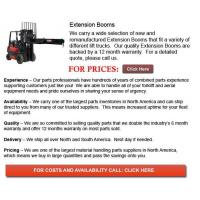 Buy cheap Forklift Extension Boom from wholesalers