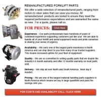 Buy cheap Remanufactured Lift Truck Parts from wholesalers
