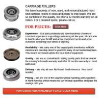 Buy cheap Carriage Rollers from wholesalers