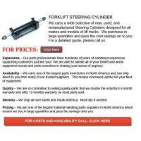 Buy cheap Forklift Steering Cylinder from wholesalers