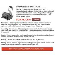 Buy cheap Forklift Hydraulic Control Valves from wholesalers