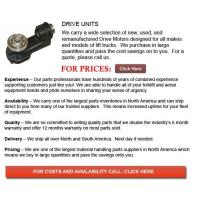 Buy cheap Forklift Drive Unit from wholesalers