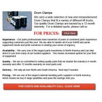 Buy cheap Drum Clamps from wholesalers