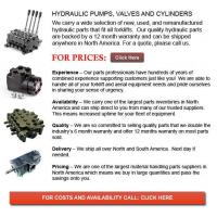 Buy cheap Hydraulic Pump, Valves and Cylinders from wholesalers