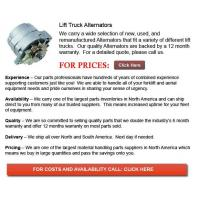 Buy cheap Forklift Alternator product