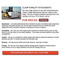Buy cheap Clamp Forklift Attachments from wholesalers