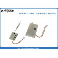 Buy cheap 5.8Ghz Mini Drones Video Transmitter With 200mW / 9 Channels Wireless Sender from wholesalers