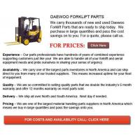 Buy cheap Daewoo Forklift Parts from wholesalers