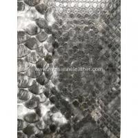 Buy cheap PU embossed leather snake prints from wholesalers