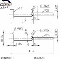 Buy cheap DT-009 DIN 1530 FH flat ejector pin from wholesalers