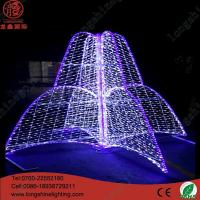 Buy cheap Neon Sign Light 2*1.8m LED 3D Fountain motif light from wholesalers