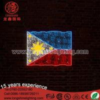 Buy cheap Neon Sign Light LED The Philippines flag motif light from wholesalers