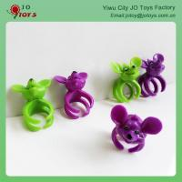 Buy cheap New Product Animal Head Cheap Plastic Toy FingerRings from wholesalers