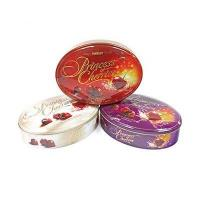 Buy cheap 262x192x60mm oval shaped candy tin from wholesalers