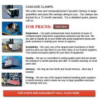 Buy cheap Cascade Clamps from wholesalers