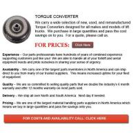 Buy cheap Forklift Torque Converters from wholesalers