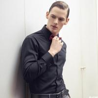 Buy cheap Shenzhen professional dress to do long-sleeved men shirt from wholesalers