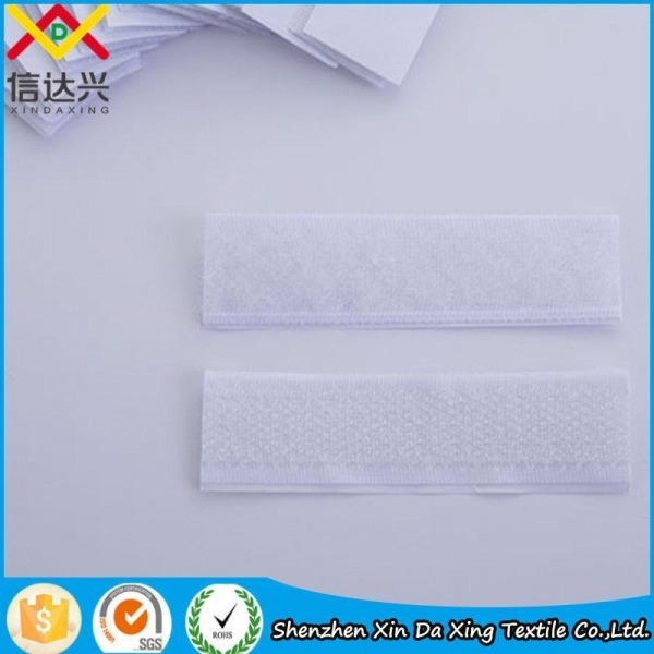 Quality SGS Pure Nylon Black Curtain Hook and Loop Sew on Tape for sale