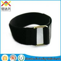 Buy cheap 100%nylon Hot Sale Luggage Same Side Hook and Loop Strap with Buckle product