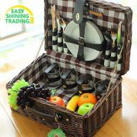 Buy cheap wicker picnic basket ESPB002 from wholesalers