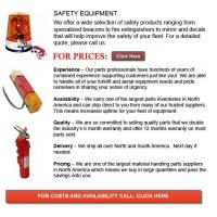 Buy cheap Safety Equipment for Forklift from wholesalers