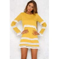 Buy cheap KR6013D Keyrole Yellow Bohemia Dress from wholesalers