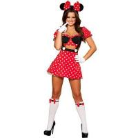 Buy cheap Fancy Disney Micky Mouse Costume and Adult Minnie Mouse Halloween Costume from wholesalers
