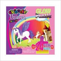Buy cheap 24 Piece Unicorn Glow Puzzles product