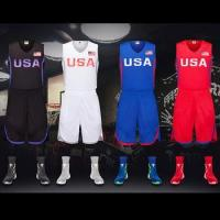 Buy cheap OEM custom latest usa basketball jersey basketball uniforms from wholesalers